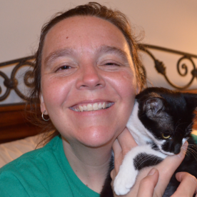 Me and Pixel. You are imaginitive. You can imagine I have the abilitiy to keep my eyes open.