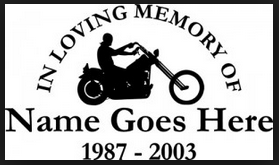 A generic decal with an oddly specific lifespan. 2003 was a bad year for 16 year-old hog enthusiasts.
