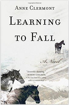 horses, review, Learning to Fall, Anne Clermont